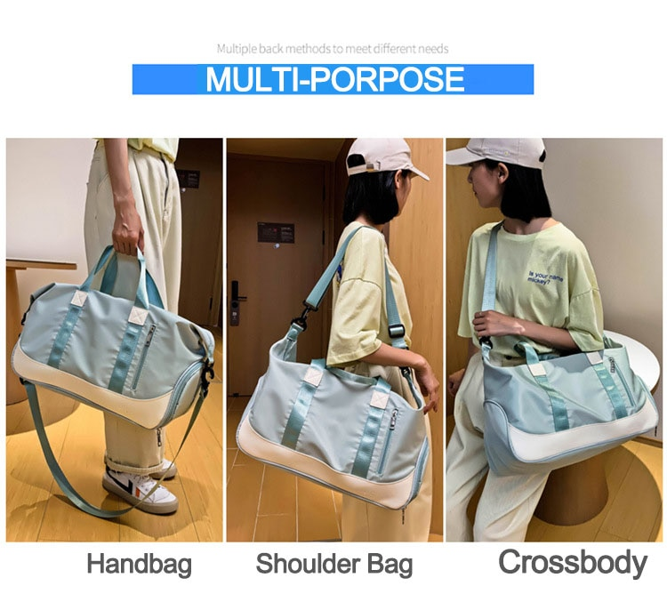 Dry Wet Fitness Gym Bags - Nylon Training Shoulder Bag JOMOBabe Official Online Store | Women Gym Clothes & Workout Wear | JOMOBabe