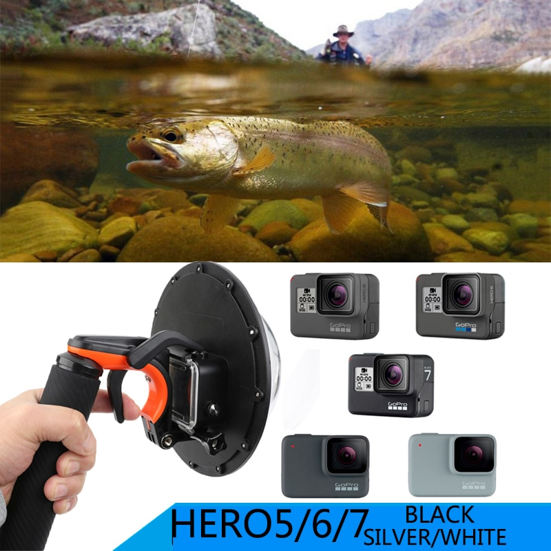 E3527-Waterproof Dome Port for GOPRO7-1
