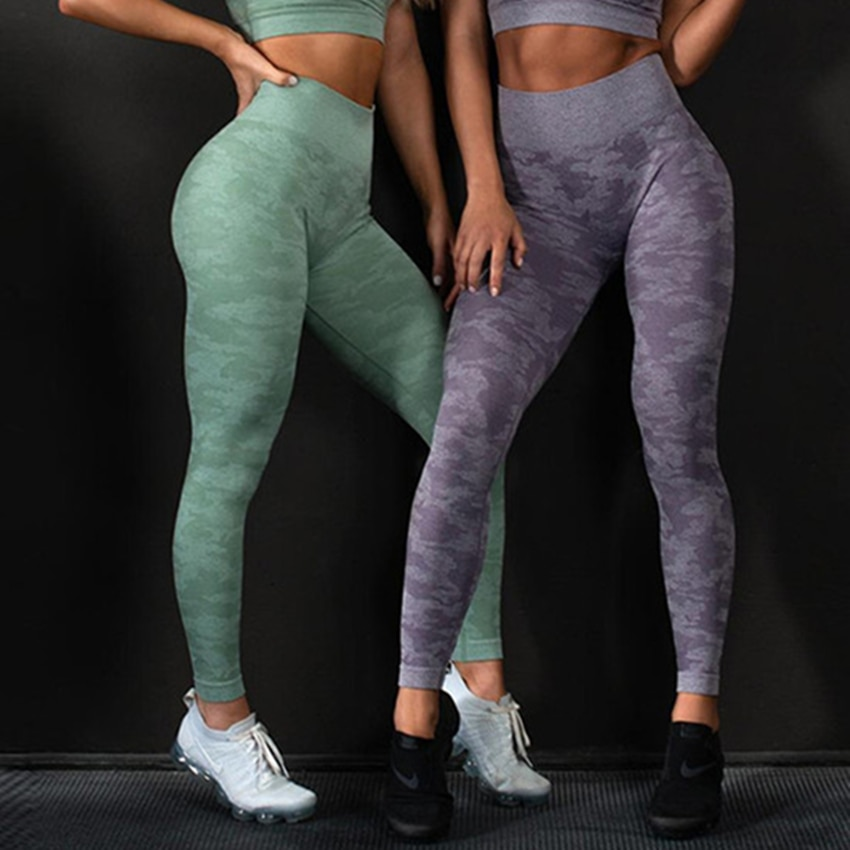 Seamless Camo Yoga Set JOMOBabe Online Store | Women Gym Clothes & Workout Gear | JOMOBabe