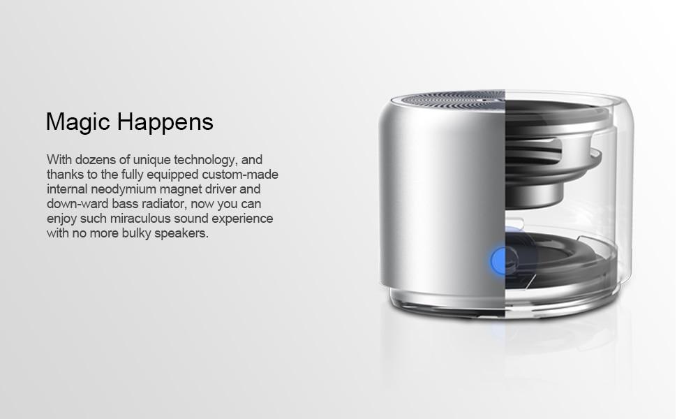 EWA A106 bluetooth speakers