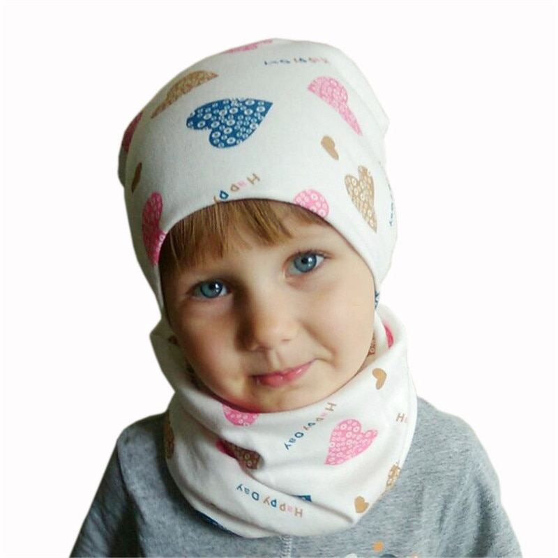 Happy baby hat scarf