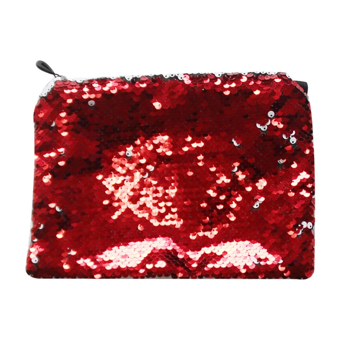 亮片化妆包-红色1
