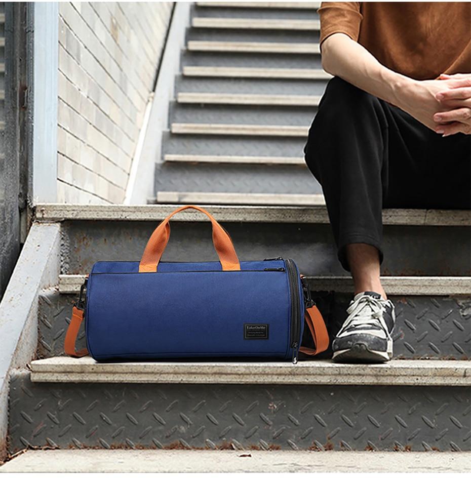 Outdoor Sports Gym Bag Multifunction Training Fitness Shoulder Bag With Shoes Pocket Travel Yoga Handbag Dry wet Swimming Bag0110