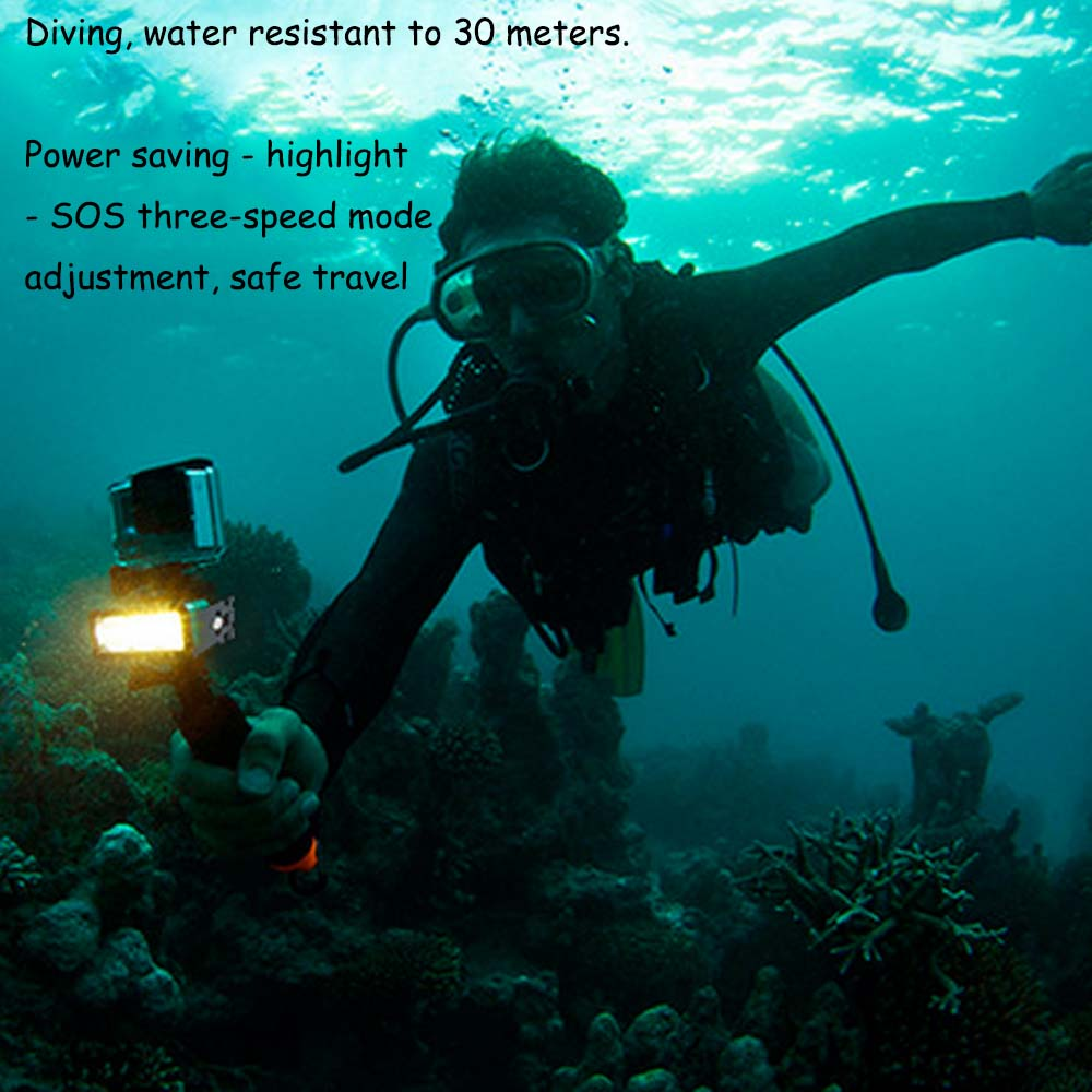 E3662-Waterproof LED Light for SJCAM-7