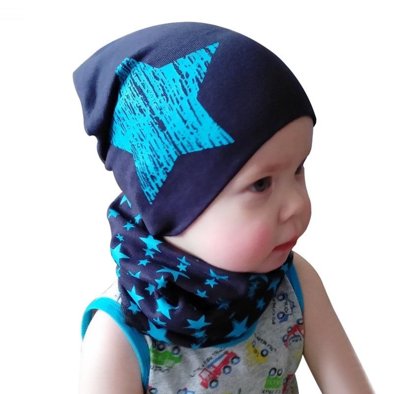 girls hat scarf star cap  (4)