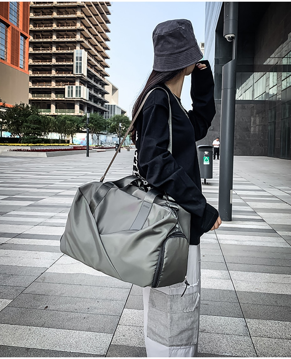 Sport Gym Bag Fitness Dry And Wet Separation Yoga Bag Waterproof Travel Shoes Handbag Women's Shoes Shoulder Bag Sports Suitcase10